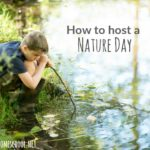 Homeschool Nature Days {And the story of the Ark}