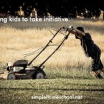 Teaching kids to take initiative